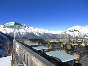 Restaurant vue terrasse